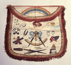Freemasonry:  #Masonic apron.