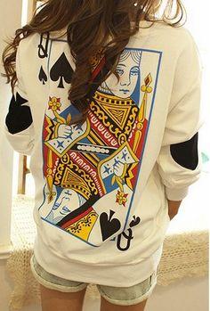 Women's Queen Sweatshirt
