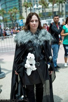 Jon Snow, Game of Thrones. Corset Costumes, Cosplay Costumes, Jon Snow Cosplay, Best Cosplay, Awesome Cosplay, Cosplay Ideas, Costume Ideas, Armor Clothing, Female Armor