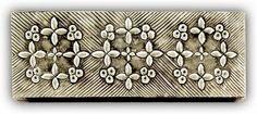 ArteyMetal: Caja joyero plumier floral 27