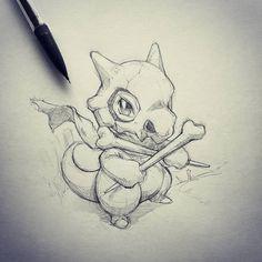 Artist: Itsbirdy | Pokemon | Cubone