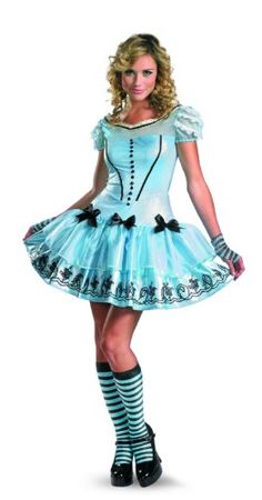 3ef5adb263 Disguise Women s Alice In Wonderland Movie Sassy Dress Costume