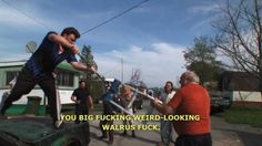 I wish my trailer park was this eventful haha