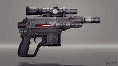 SW weapon redesign 2, Alessandro Sarritzu on ArtStation at http://www.artstation.com/artwork/sw-weapon-redesign-2