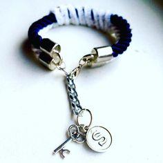 For my very special customer! Ready to ship  #bracelet #modern #trendy #shuny #bold #chunky #etsy #etsyshop #etsyfinds #etsyseller #navyblue #white #ropejewelry #lovejewelry #jewelry #jewellery #handmade #handcraft #handmadejewelry #nautical #stylish #gift #sale #shipping #usa