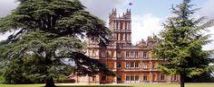 Highclere Castle, Newbury, UK. Setting of Downton Abbey.