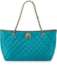 Love this: Borsa Quilted Fauxleather Tote @Lyst