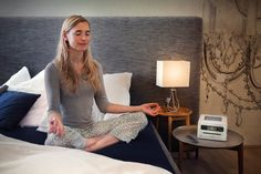 Pre-Installed meditation programs to help focus the mind, let go of stress, fall asleep at night, or even to give you a burst of energy during the day!