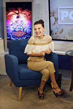 """When she returned for a second season of """"Stranger Things,"""" Millie Bobby Brown found that, indeed, some things were stranger than the first time around. But some things were much easier, too. #StrangerThings #MillieBobbyBrown #Netflix #TV #TVNews #entertainment #EntertainmentNews"""
