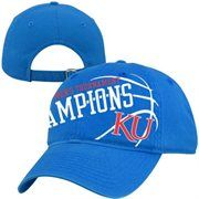 Kansas Jayhawks 2013 NCAA Men's Basketball Big 12 Tournament Champions Adjustable Hat