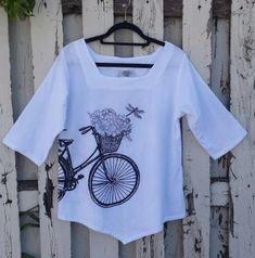 Cute little bike top.
