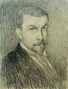 Henri Le Sidaner (1862-1939) Self Portrait