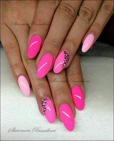 Nails esqueleto nice pink