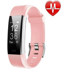 LETSCOM Fitness Tracker HR, Activity Tracker Watch with Heart Rate Monitor, Waterproof Smart Fitness Band with Step Counter, Calorie Counter, Pedometer Watch for Kids Women and Men. Choice of Colors. Lower Belly Fat, Reduce Belly Fat, Activity Tracker Watch, Cartier Panthere, Calorie Counter, Track Workout, Fitness Activities, Fitness Tracker, Clothes