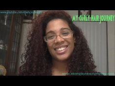 My Curly Hair Journey! | EbonyJayBeauty  #bbloggers #beauty #youtube #curlyhair #curlyhairjourney