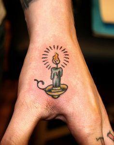 Afbeeldingsresultaat voor candlestick brass tattoo