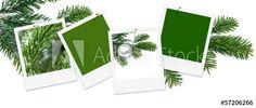 Weihnachten, Platzhalter für eigene Bilder, Weihnachtskarte
