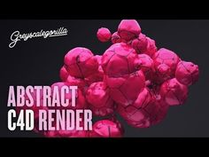 Cinema 4D Tutorial - How To Make An Abstract Render in Cinema 4D using X-Particles - YouTube
