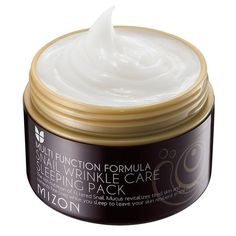 Mizon Cosmetics Snail Wrinkle Care Sleeping Pack, 2.7 Fluid Ounce *** Discover this special product, click the image : Face treatments and masks