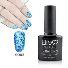 Elite99 10ml Bling Glitter UV Gel Nail Polish