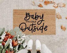 Fall Doormat, Christmas Doormat, Coir Doormat, Christmas Pictures, Christmas Ideas, Xmas, Fall Pictures, Christmas 2019, Holiday Ideas