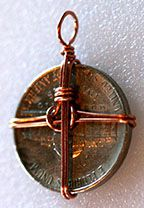 Step 24 to Mounting a Coin -- A Jewelry Making Technique