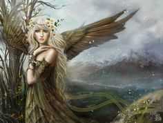 Faires & Maidens - Fantasy Art & Illustration by Brooke Gillette