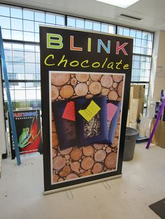 Banner stand for Bink Chocolate #fastsigns #banners www.fastsigns.com/653 Fast Signs, Create A Company, Banner Stands, Banners, Vancouver, Display, Chocolate, Frame, Design