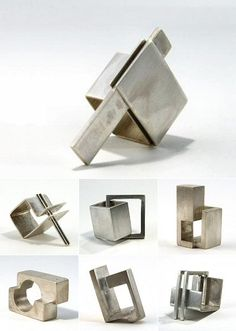 TheCarrotbox.com modern jewellery blog : obsessed with rings // feed your fingers!: Denise Gielen / Friedemann Haertl