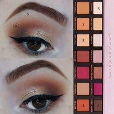 Anastasia Beverly Hills ABH Modern Renaissance palette looks tutorial copper warm tones