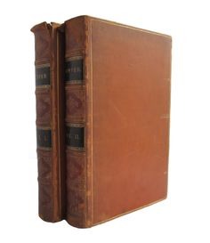 The Poetical Works of William Cowper - leather books from 1854