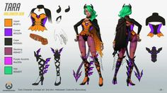 Overwatch hero concept: Tara