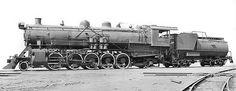 Seaboard Air Line 2-10-2 Santa Fe, Class B, Steam Locomotive # 409, as built by Baldwin in 1918