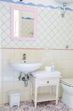 La Palma Suite Sink, Villa, Vanity, Bathroom, Home Decor, Las Palmas, Sink Tops, Painted Makeup Vanity, Washroom