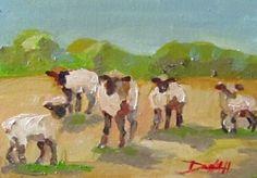 Spring Lambs -- Delilah Smith