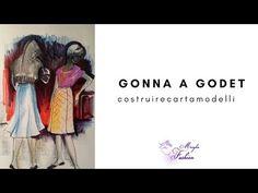 CARTAMODELLI GONNE - YouTube E Design, Sewing, Books, Pattern, Tutorial, Youtube, Handmade, Diy, Fashion