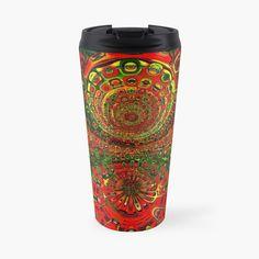 Travel Mug, Digital Art, My Arts, Art Prints, Mugs, Lifestyle, Printed, Awesome, Products