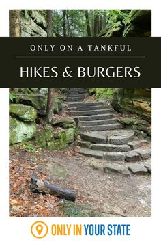 Enjoy the best hiking trails and most delicious burgers in Ohio on this scenic, fun, family-friendly road trip. It's perfect for foodies and nature lovers. The Buckeye State, Hidden Beach, Delicious Burgers, Summer Memories, Haunted Places, Covered Bridges, Hiking Trails, Day Trip, Road Trips