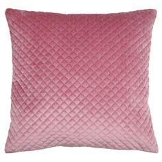 Perna velur roz pudrat catifelata Baryton cu suprafata moale si placuta la atingere. Perna velur roz cu dimensiuni 45 x 45 cm si husa detasabila.