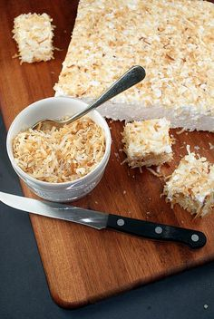 Toasted Coconut Marshmallows I could make this sugar free and vegan