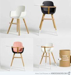 15 modern high chair designs for babies and toddlers - Modern High Chair