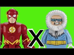 The Flash DC Comics Imaginext  X  Capitão Frio Captain Gold Lego bonecos...