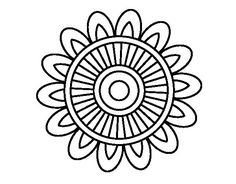 Mandala solar coloring page Doodle Patterns, Zentangle Patterns, Mandala Pattern, Mosaic Patterns, Mandala Design, Mandala Art, Mandala Coloring Pages, Colouring Pages, Coloring Books
