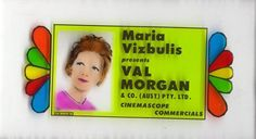 Val Morgan slide show host Advertising, Ads, Old Things, Cinema, Presents, Frame, Gifts, Picture Frame, Movies