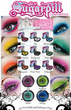 Look into Sugarpill Cosmetics.... you will thank me later :-)