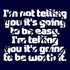 Push through. Harder And Harder! It'll be worth it in the end...(: