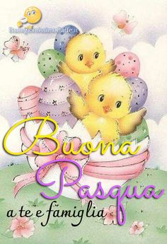 Buona Pasqua a te e famiglia immagini Facebook Italian Greetings, Italian Quotes, Holy Week, Snoopy, Teddy Bear, Easter, My Favorite Things, Cards, Gifts