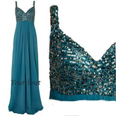 Amazing beading halter prom dress from Your Closet #coniefox #2016prom