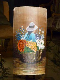 Manualidades Eli´s: Tejas decoradas