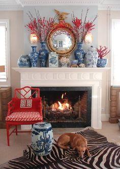Blanco Interiores: A inspiradora cerâmica azul e branca!